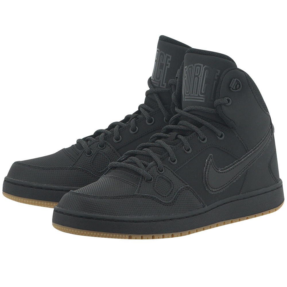 Nike - Nike Son of Force Mid Winter 807242009-4 - ΜΑΥΡΟ