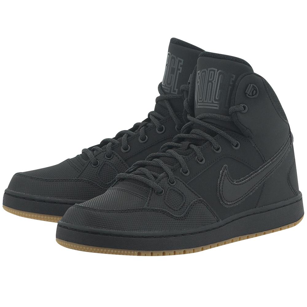 Nike – Nike Son of Force Mid Winter 807242009-4 – ΜΑΥΡΟ