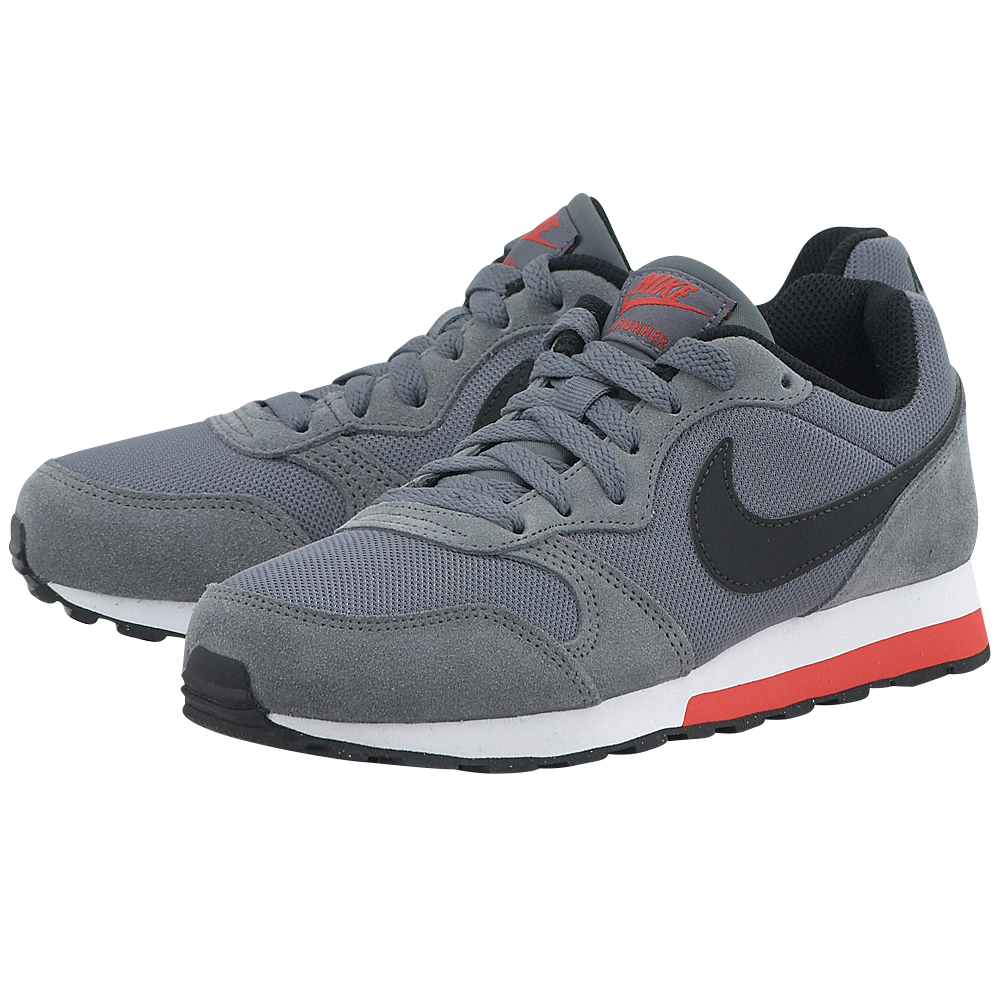 Nike – Nike Md Runner 2 807316006-3 – ΓΚΡΙ ΣΚΟΥΡΟ