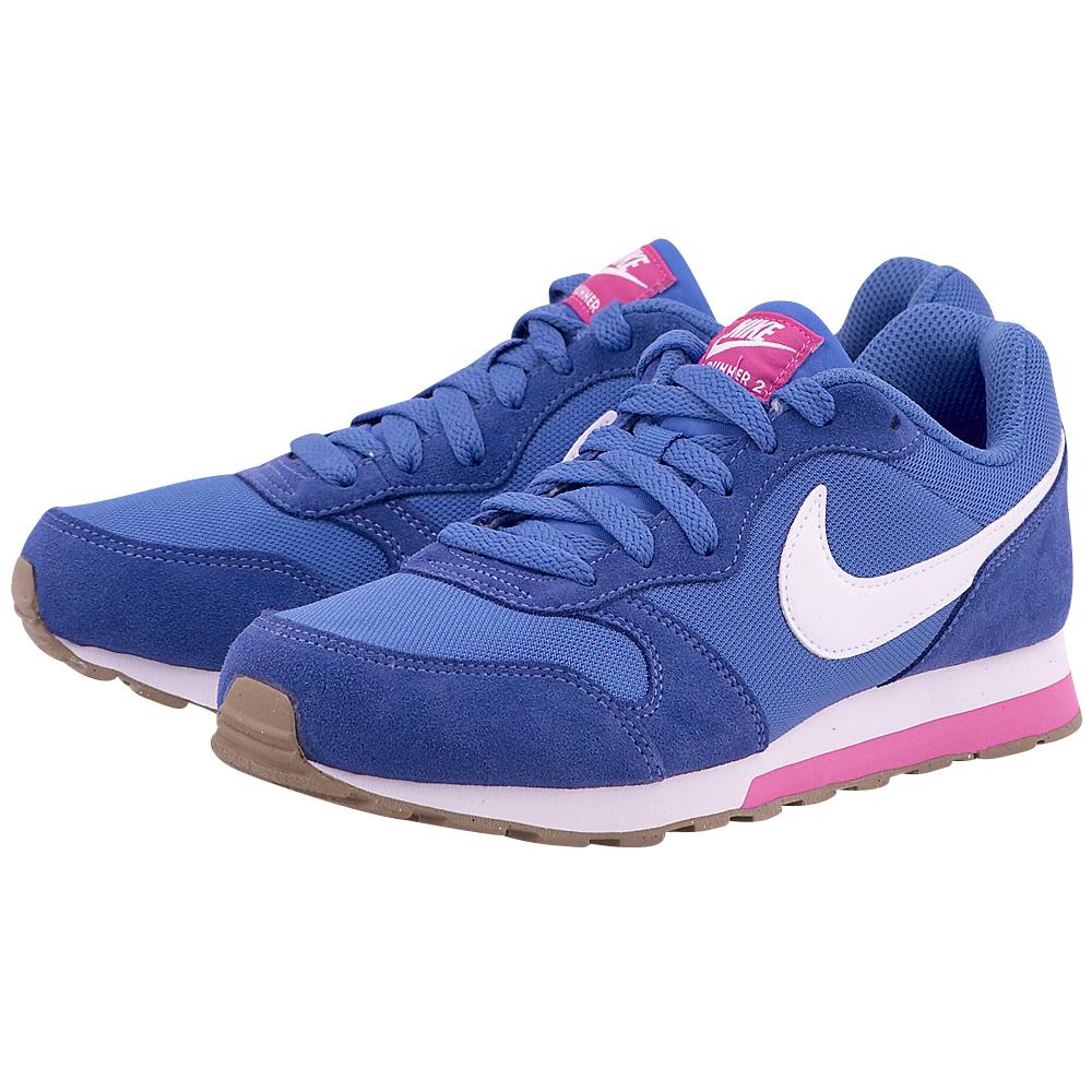 Nike – Nike MD Runner 2 807319-404 – ΜΠΛΕ