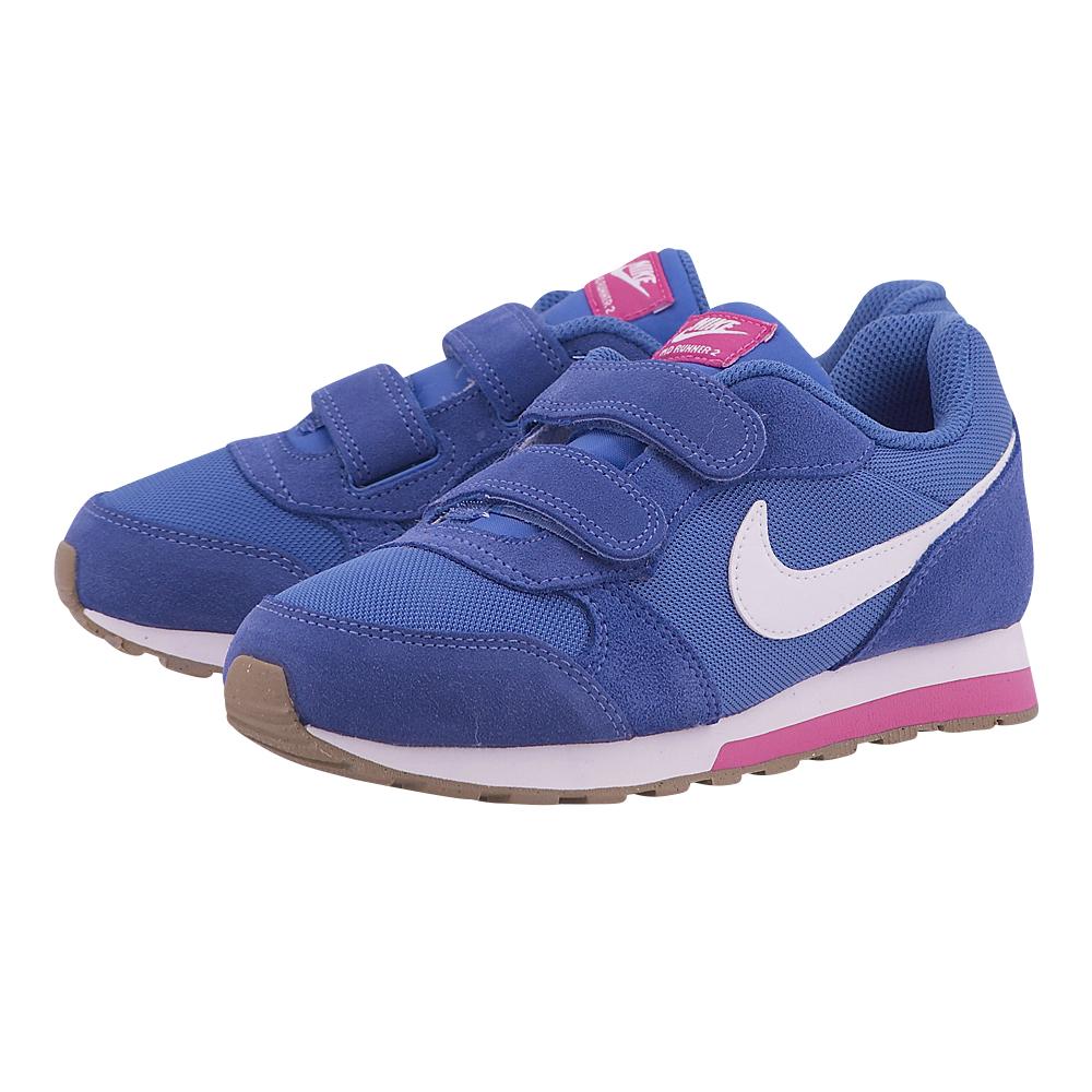 Nike – Nike MD Runner 2 807320-404 – ΜΠΛΕ