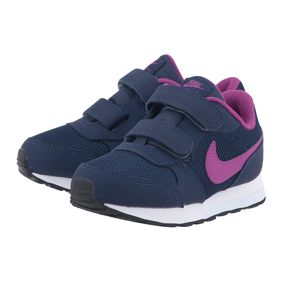 Nike - Nike MD Runner 2 (TD) Toddler Shoe 807328401-1 - ΜΠΛΕ ΣΚΟΥΡΟ
