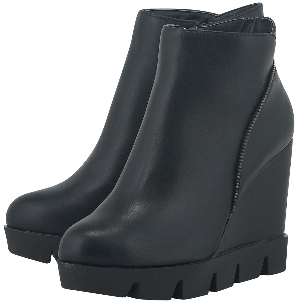 Adam's Shoes - Adam's Shoes 811-5540 - ΜΑΥΡΟ