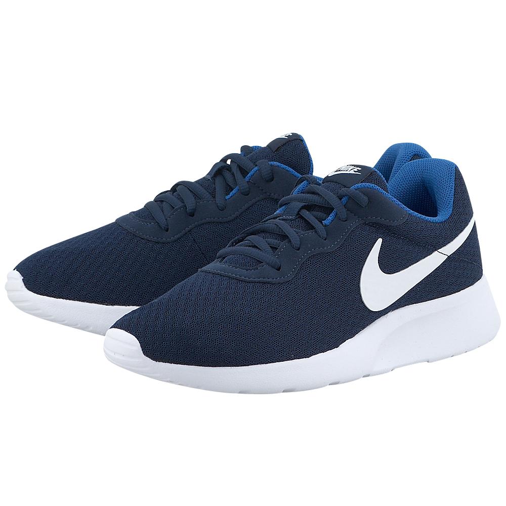 Nike - Nike Tanjun 812654414-4 - ΜΠΛΕ ΣΚΟΥΡΟ