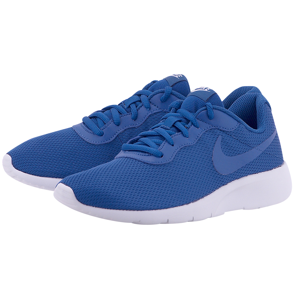 Nike – Nike Boys' Tanjun (GS) Shoe 818381-402 – ΜΠΛΕ