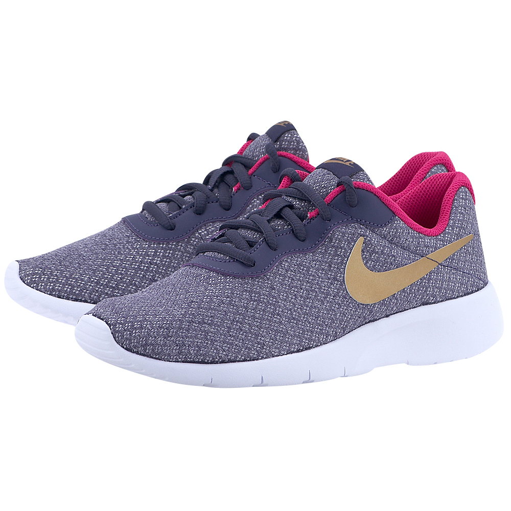Nike - Nike Tanjun (GS) Girls' Shoe 818384-502 - ΓΚΡΙ ΣΚΟΥΡΟ