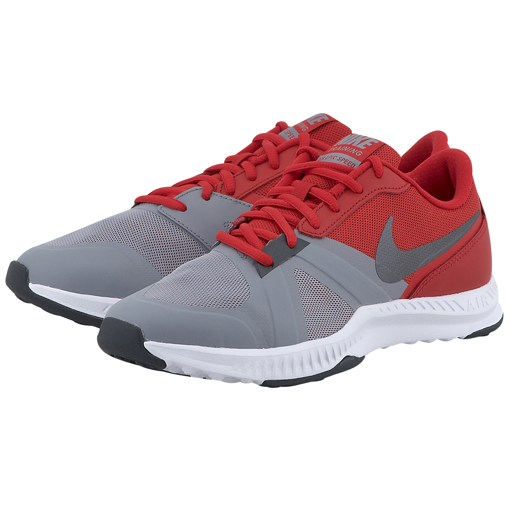 Nike – Nike Air Epic Speed 819003006-4 – ΓΚΡΙ/ΚΟΚΚΙΝΟ