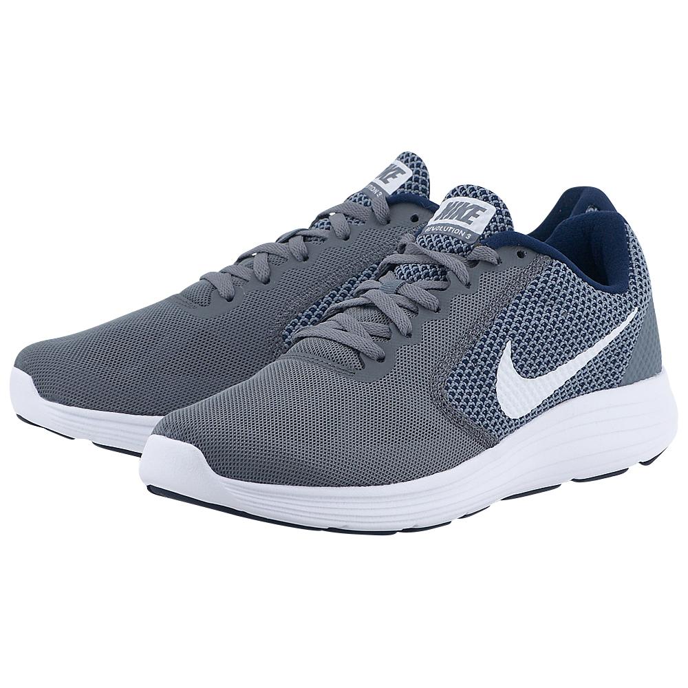 Nike - Nike Men's Revolution 3 Running Shoe 819300-019 - ΓΚΡΙ