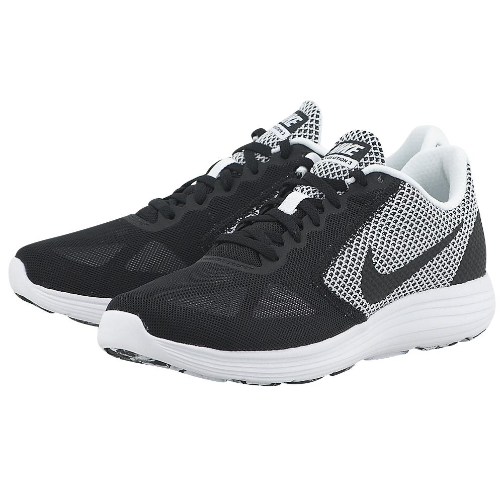 Nike - Nike Revolution 3 Running 819300-103 - ΛΕΥΚΟ/ΜΑΥΡΟ