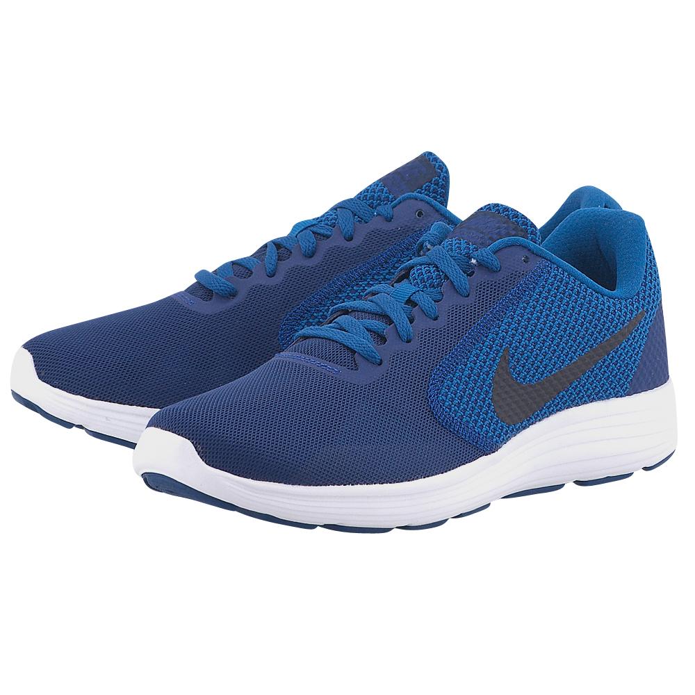 Nike - Nike Revolution 3 Running 819300-408 - ΜΠΛΕ
