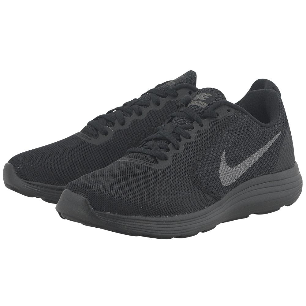 Nike - Nike Revolution 3 Running 819300012-4 - ΜΑΥΡΟ