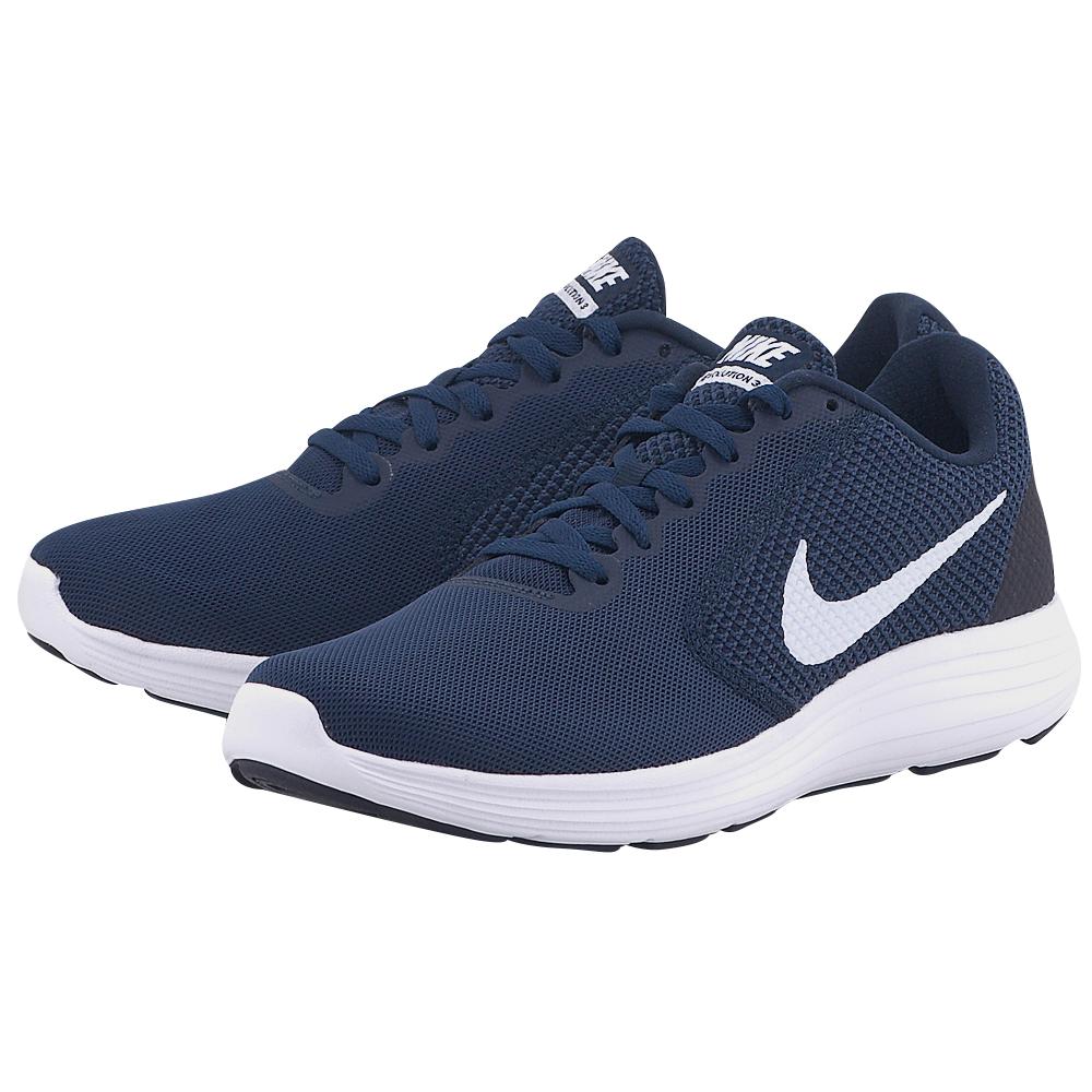 Nike – Nike Revolution 3 Running 819300406-4 – ΜΠΛΕ ΣΚΟΥΡΟ