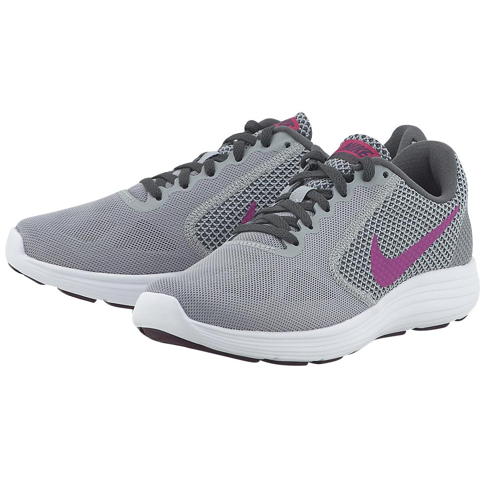 Nike - Nike Revolution 3 Running 819303-009 - ΓΚΡΙ
