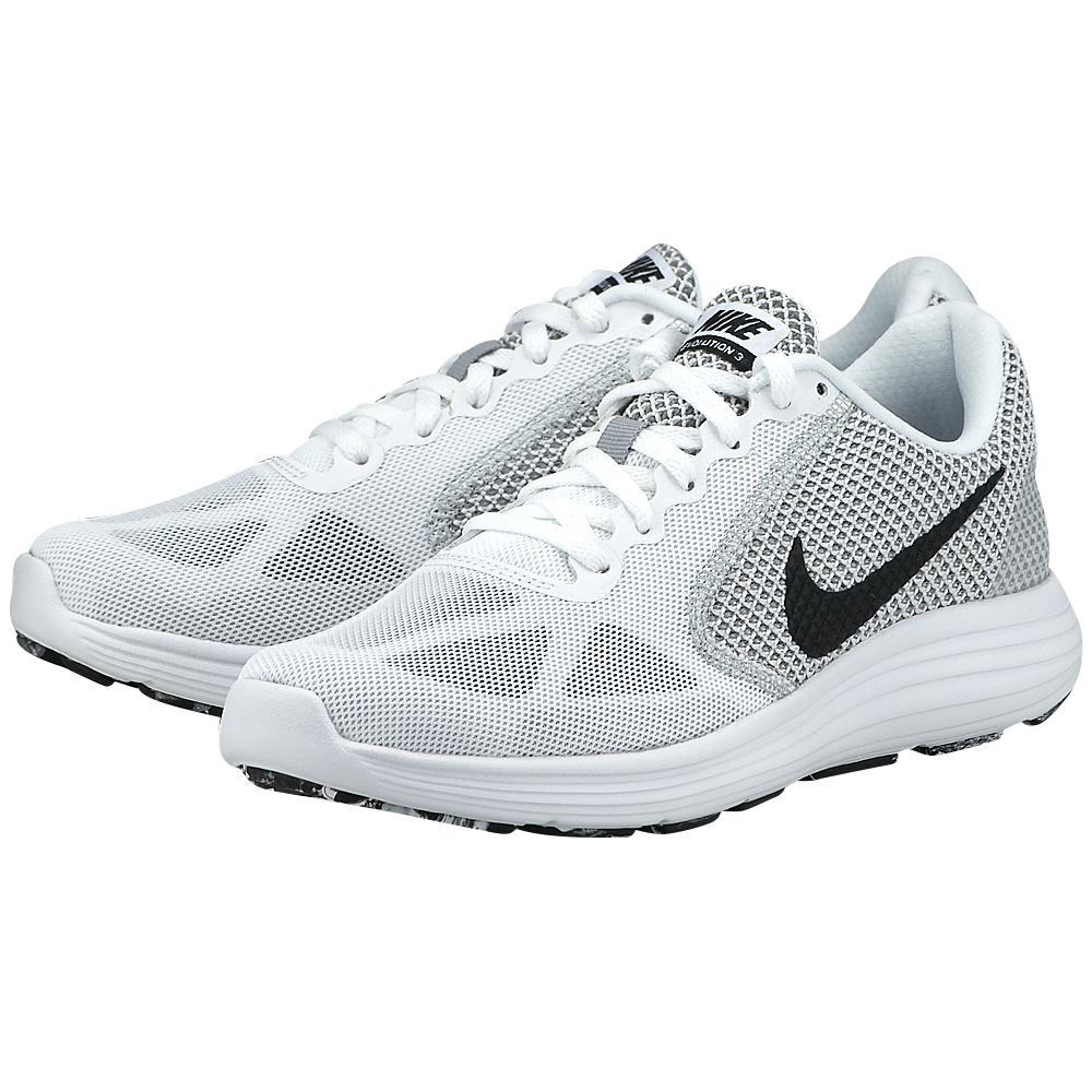 Nike – Nike Revolution 3 Running 819303102-3 – ΛΕΥΚΟ/ΓΚΡΙ