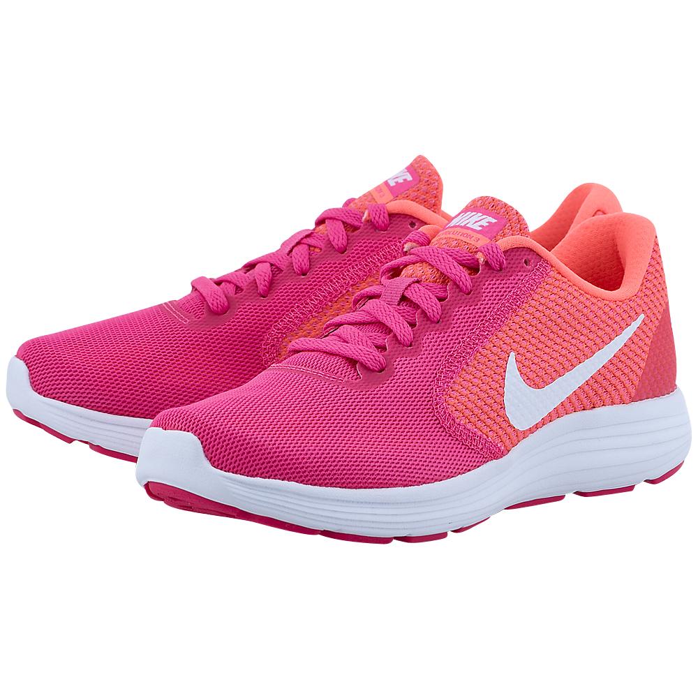 Nike - Nike Revolution 3 819303601-3. - ΦΟΥΞΙΑ/ΚΟΡΑΛΙ
