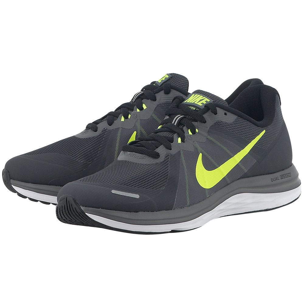 Nike – Nike Dual Fusion X2 819316008-4 – ΓΚΡΙ ΣΚΟΥΡΟ