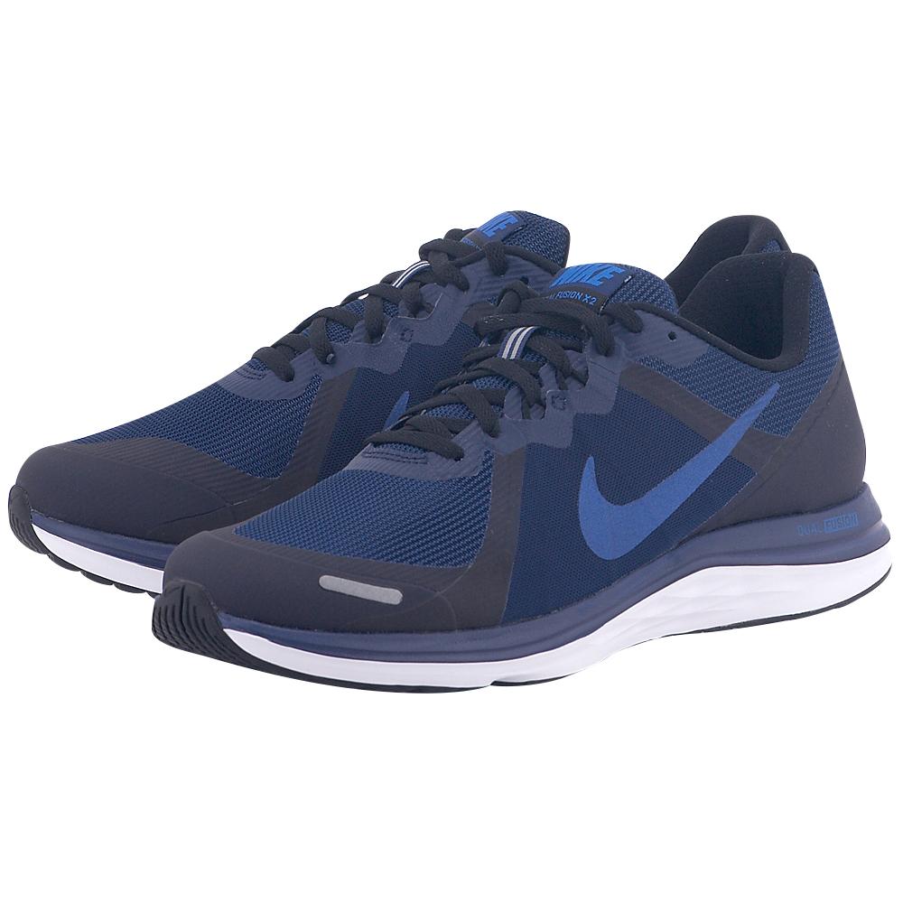 Nike – Nike Dual Fusion 819316405-4 – ΜΠΛΕ/ΜΑΥΡΟ