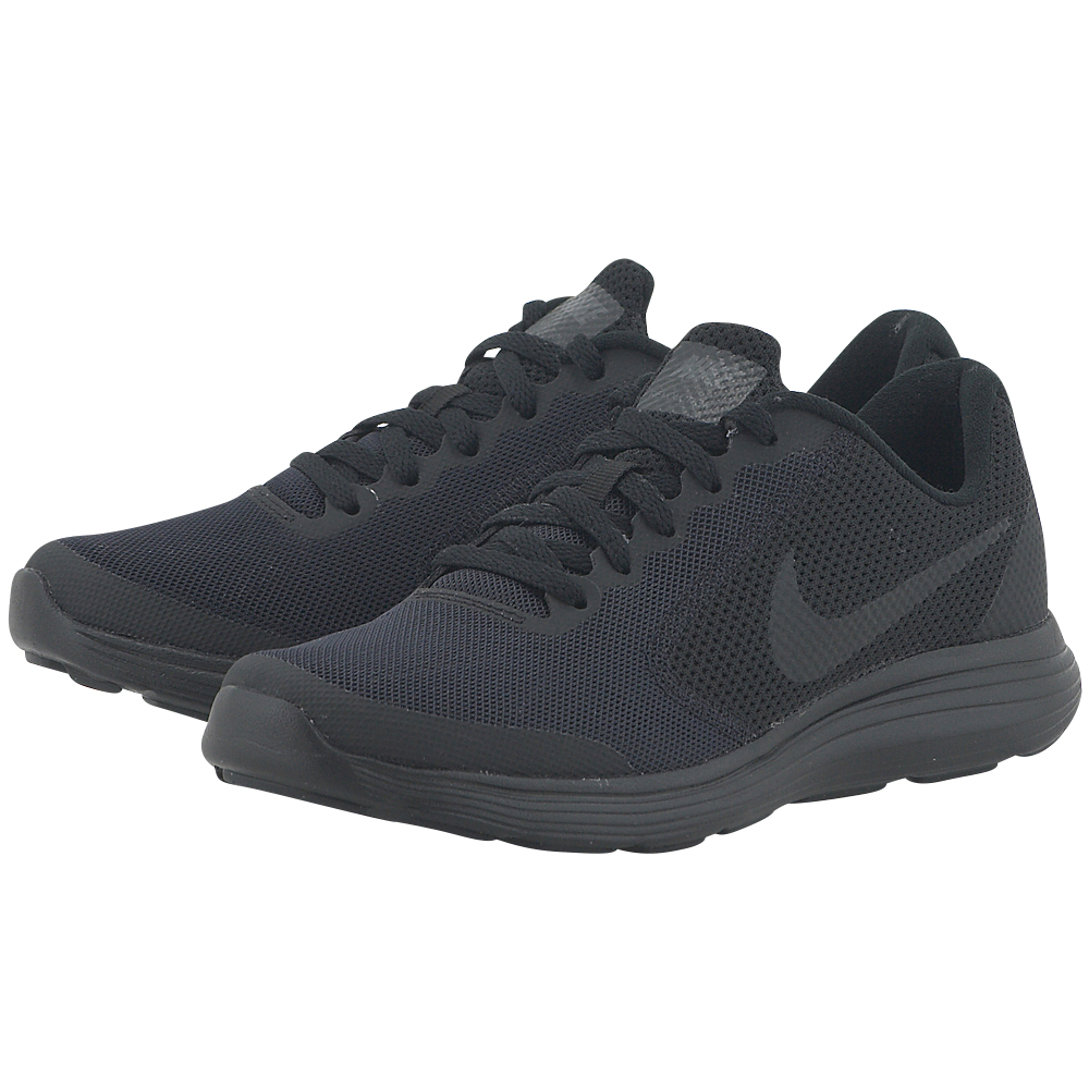 Nike - Nike Revolution 3 (GS) Running 819413-009 - ΜΑΥΡΟ