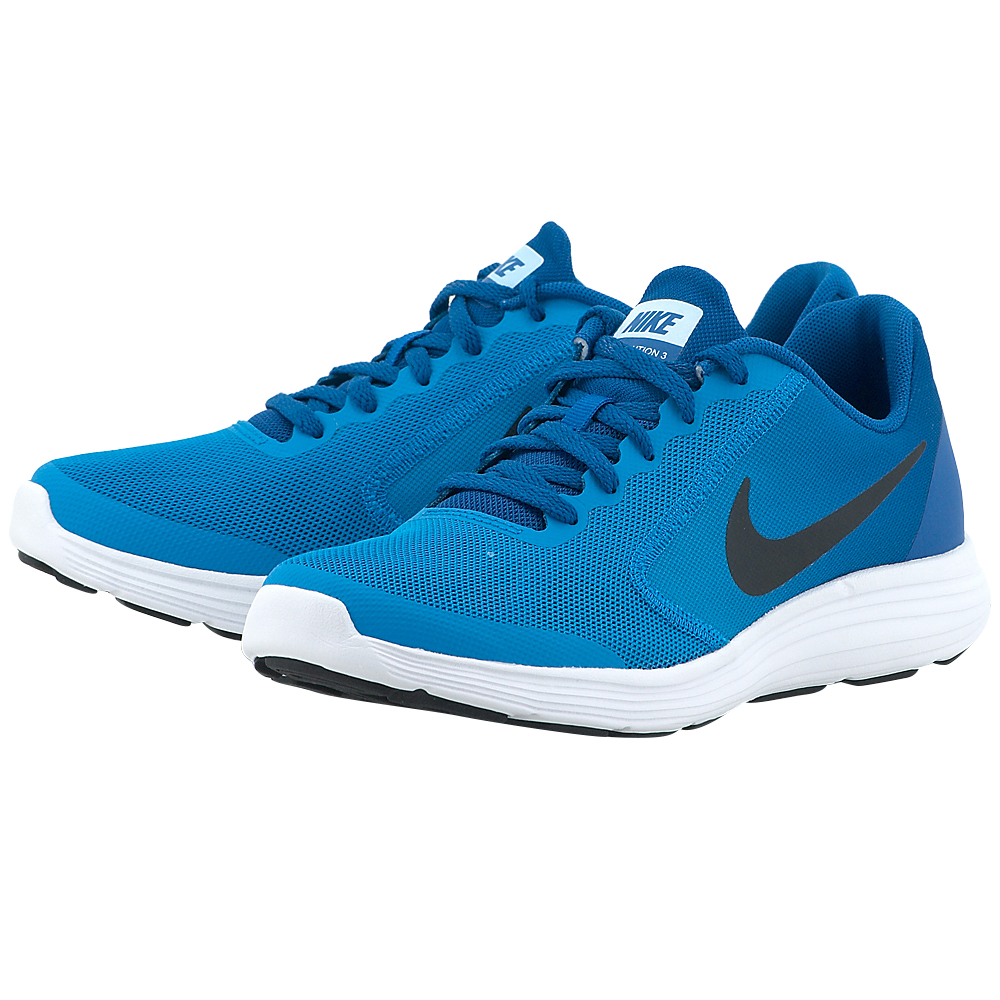 Nike - Nike Revolution 3 (GS) Running 819413-407 - ΜΠΛΕ