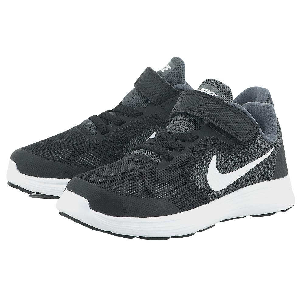 Nike – Nike Revolution 3 (PSV) 819414001-2 – ΜΑΥΡΟ