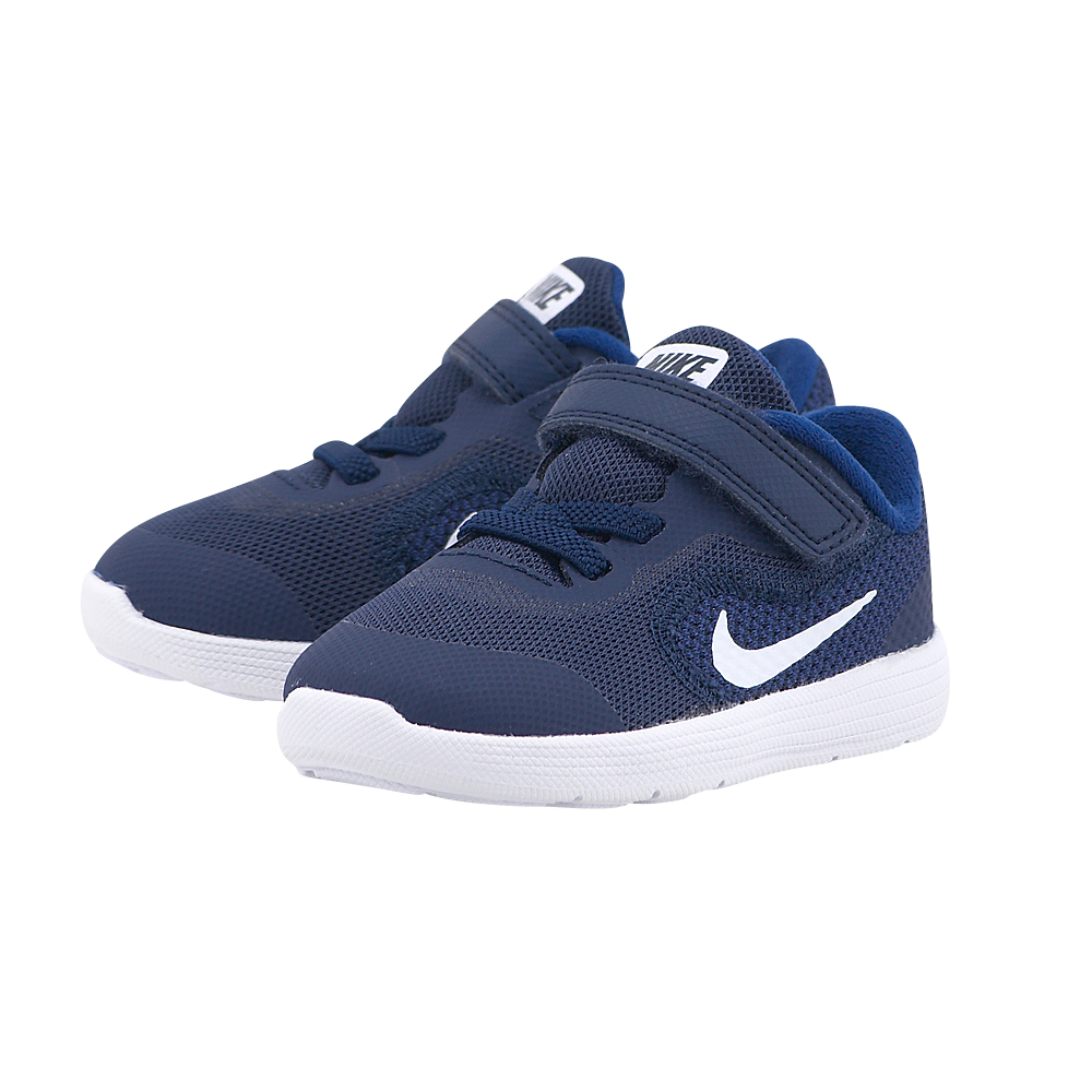 Nike - Nike Revolution 3 819415-406 - ΜΠΛΕ ΣΚΟΥΡΟ