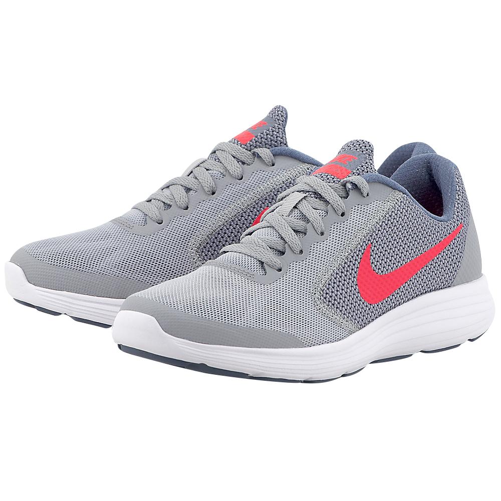 Nike - Nike Revolution 3 (GS) Running 819416-003 - ΓΚΡΙ