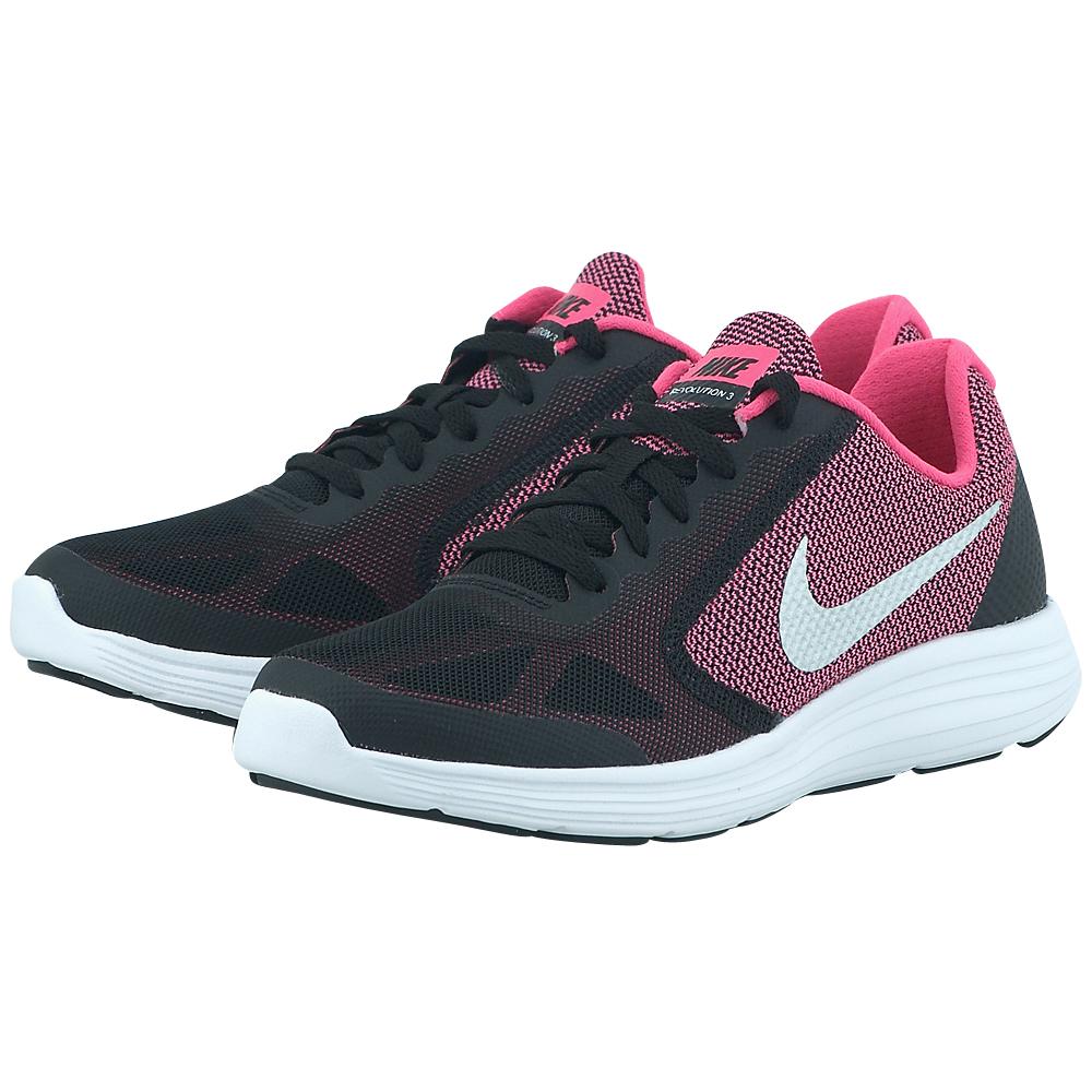 Nike – Nike Revolution 3 (GS) 819416001-2 – ΜΑΥΡΟ/ΜΩΒ