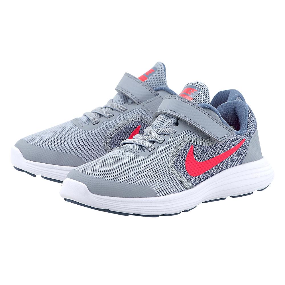 Nike – Nike Revolution 3 (PS) 819417-003 – ΓΚΡΙ
