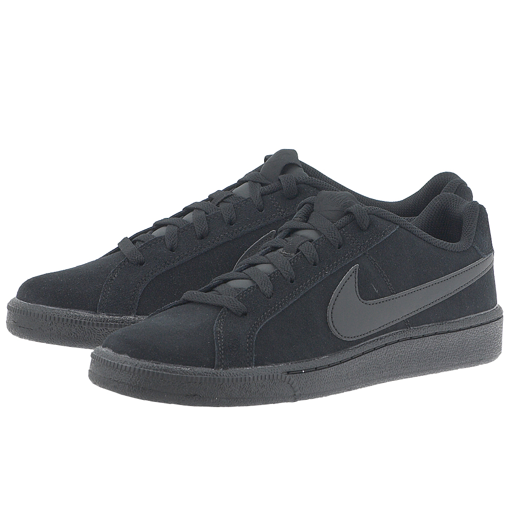 Nike - Nike Men's Court Royale Suede Shoe 819802-004 - ΜΑΥΡΟ