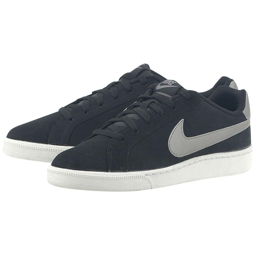 Nike - Nike Men's Court Royale Suede Shoe 819802-005 - ΜΑΥΡΟ