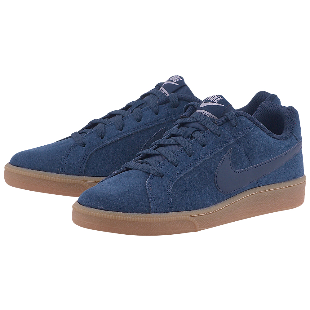Nike - Nike Court Royale Suede 819802-402. - ΜΠΛΕ ΣΚΟΥΡΟ
