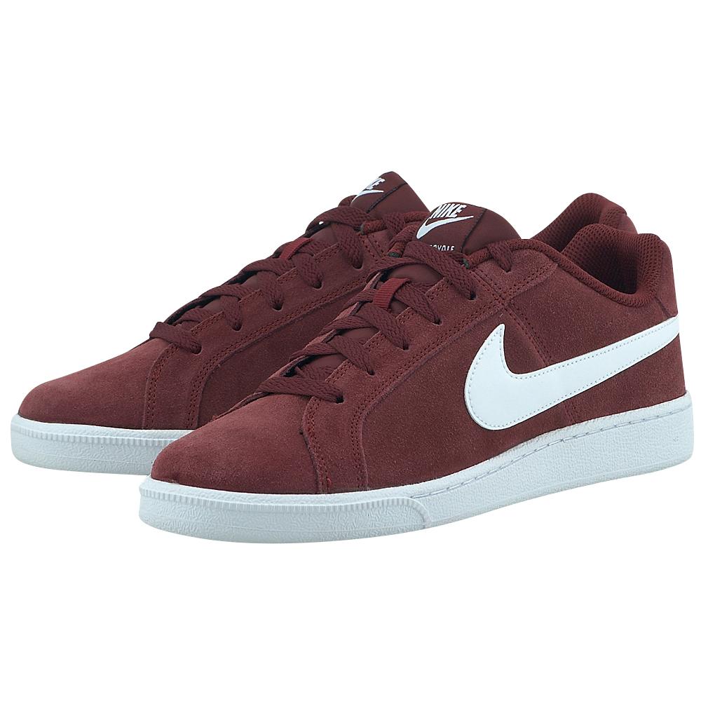 Nike – Nike Court Royale Suede 819802600-4 – ΜΠΟΡΝΤΩ