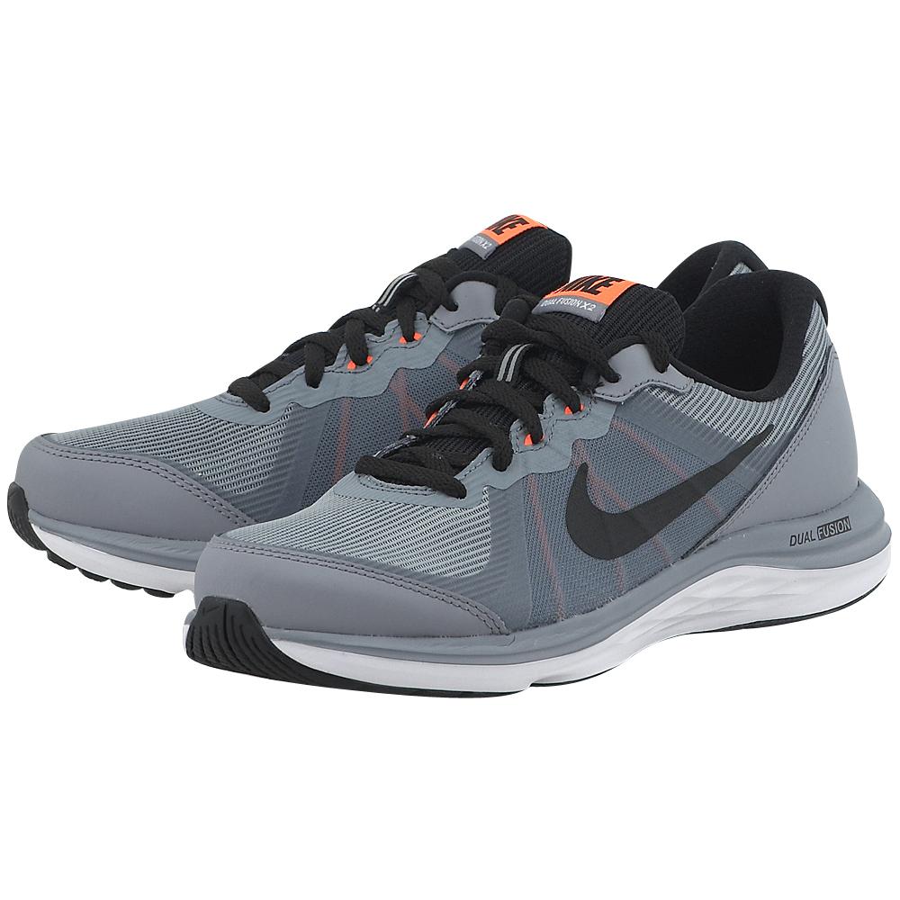 Nike – Nike Boys' Dual Fusion X 2 820305005-3 – ΓΚΡΙ ΣΚΟΥΡΟ
