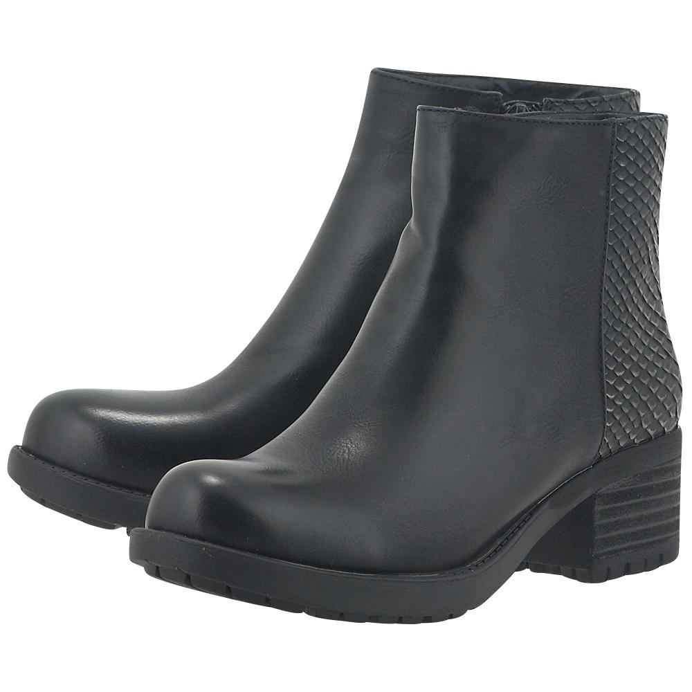 Adam's Shoes - Adam's Shoes 826-17511 - ΜΑΥΡΟ