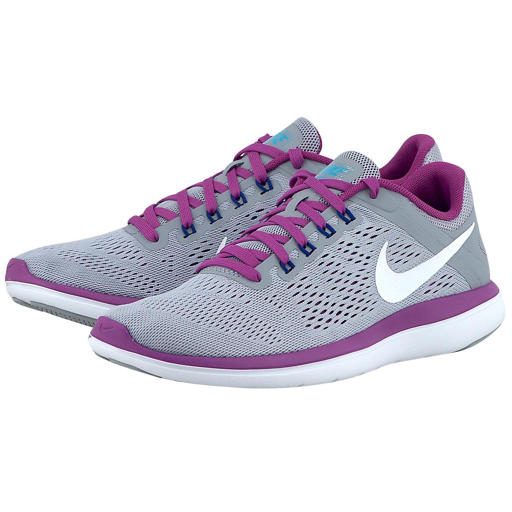 Nike – Nike Nike Flex 2016 830751004-3 – ΓΚΡΙ/ΜΩΒ