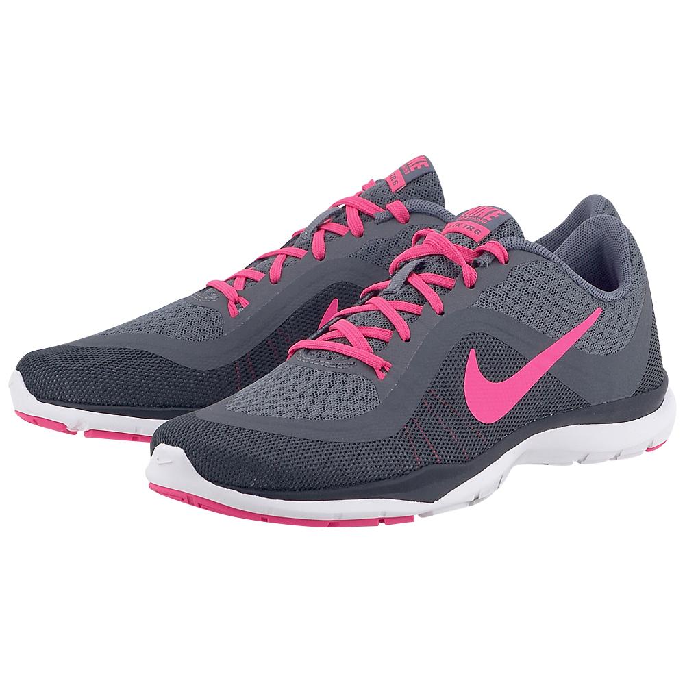Nike - Nike Flex Trainer 831217003-3 - ΓΚΡΙ ΣΚΟΥΡΟ