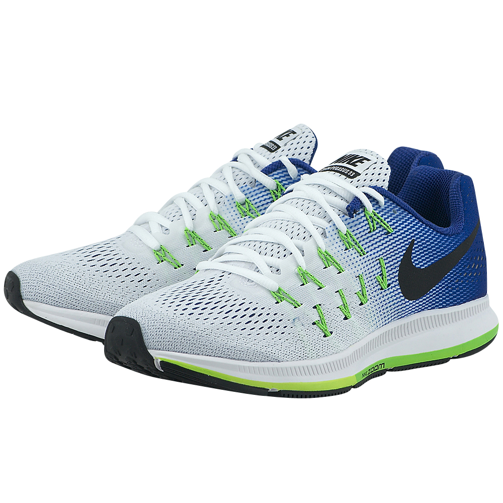 Nike Air Zoom Pegasus 33 λευκο μπλε 831352103-4  2697a5cc0f4