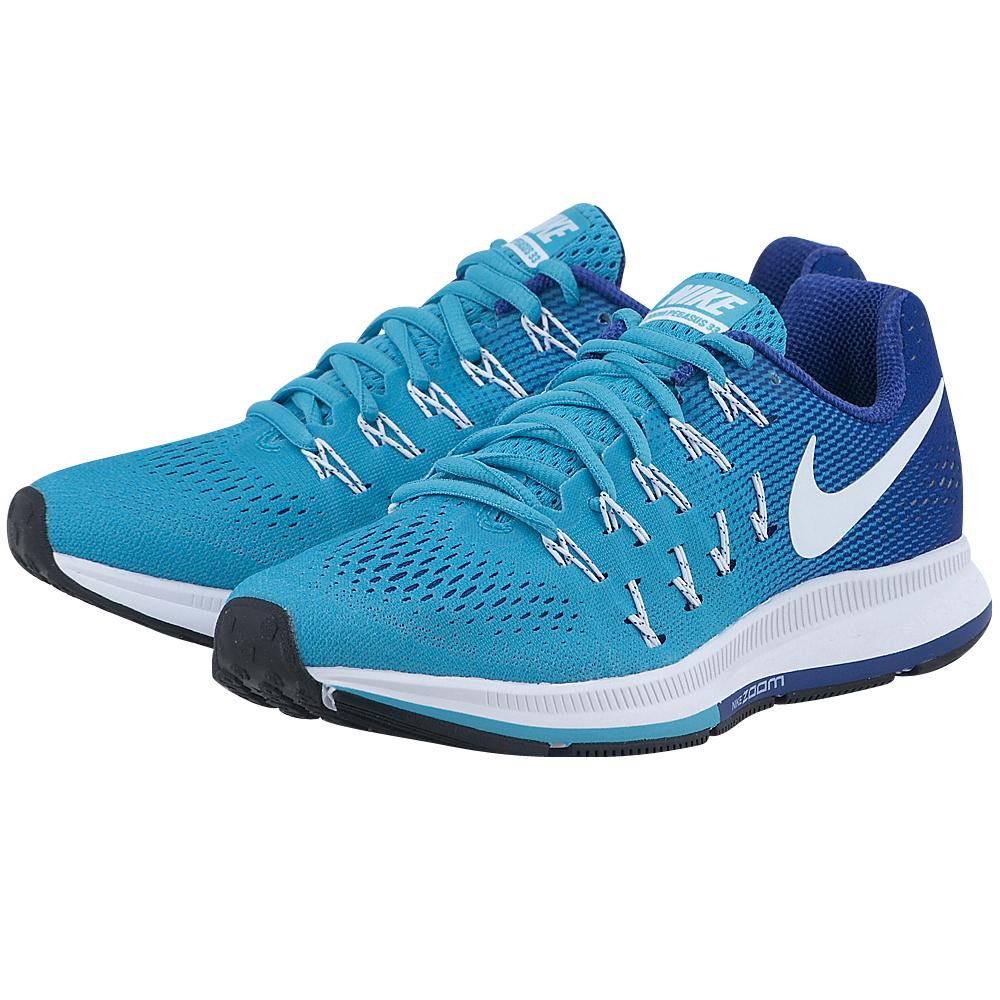 Nike – Nike Air Zoom Pegasus 33 831356400-3 – ΤΥΡΚΟΥΑΖ/ΜΠΛΕ