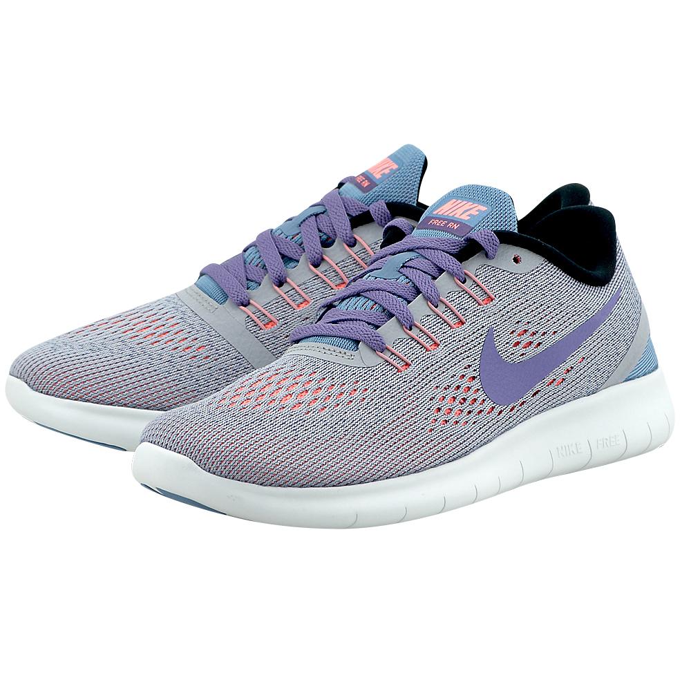 Nike - Nike Free RN Running 831509009-3 - ΓΚΡΙ/ΜΩΒ