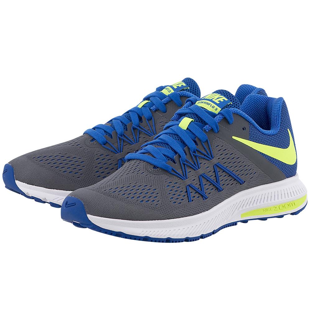 Nike - Nike Air Zoom Winflo 3 831561005-4. - ΓΚΡΙ/ΜΠΛΕ