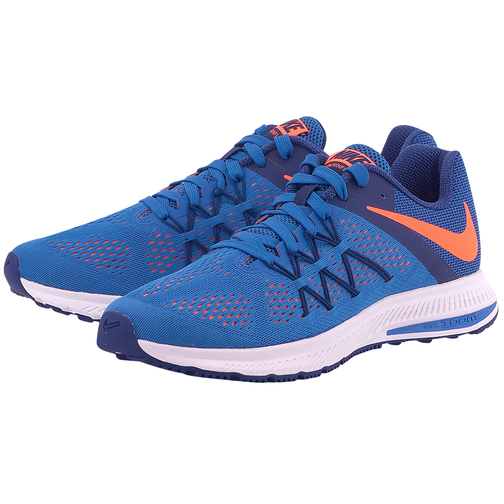 Nike - Nike Air Zoom Winflo 3 Running Shoe 831561402-4 - ΜΠΛΕ