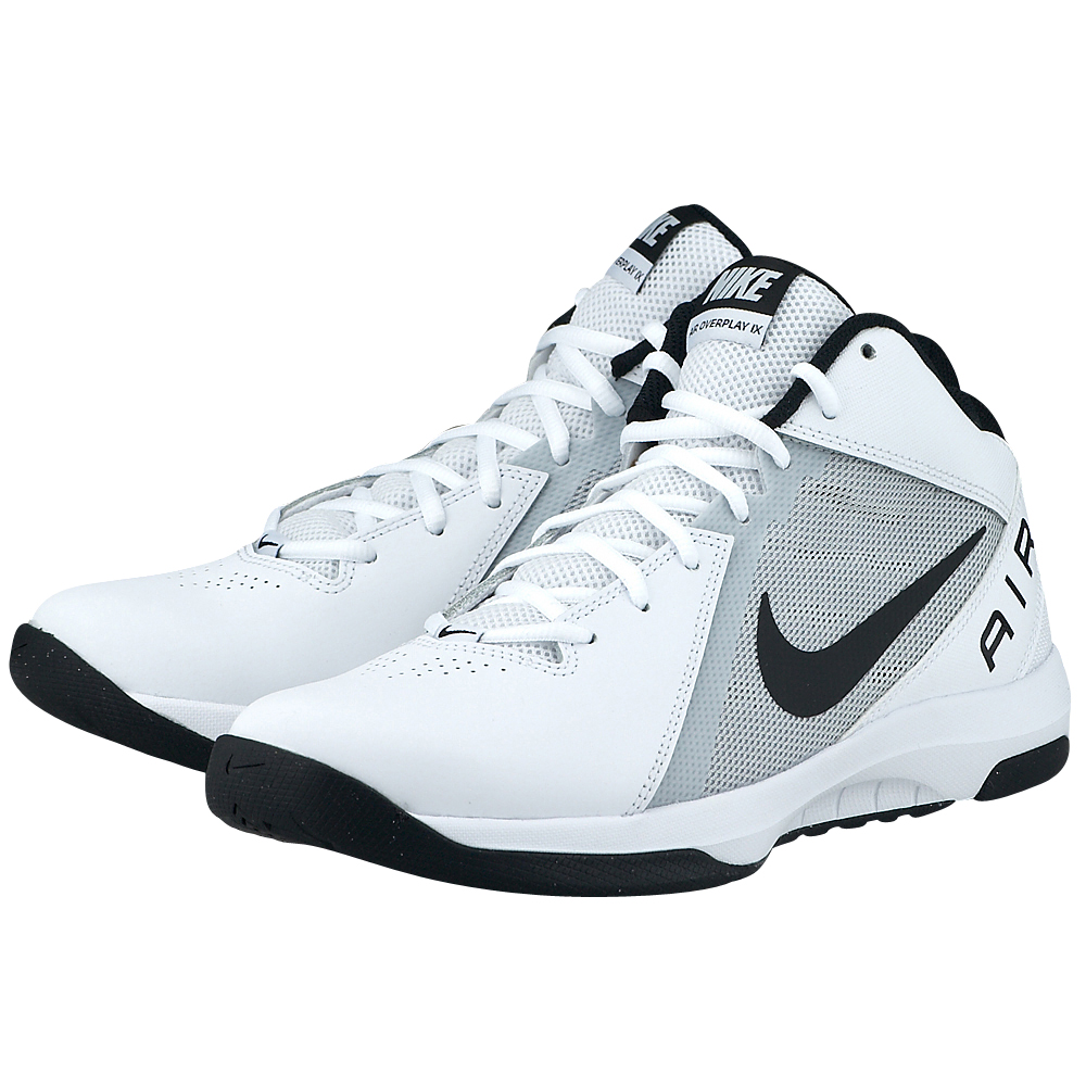 02fee521a35 Nike Air Overplay IX λευκο/γκρι 831572100-4   MYSHOE.GR