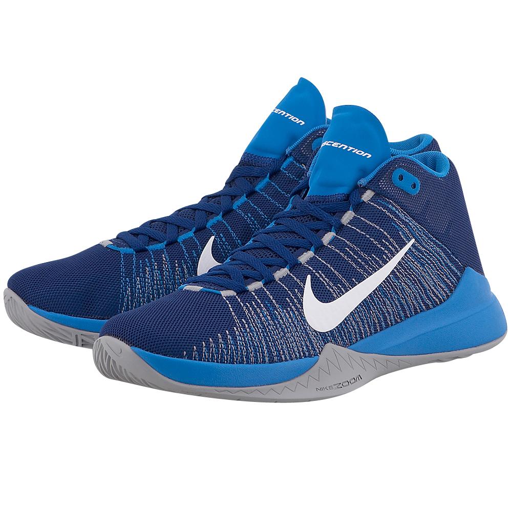 Nike – Nike Zoom Ascention 832234400-3 – ΜΠΛΕ ΣΚΟΥΡΟ