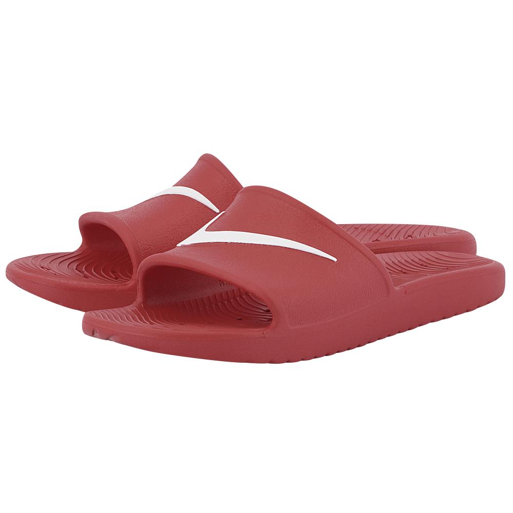 Nike - Nike Kawa Shower Slide 832528-600 - ΚΟΚΚΙΝΟ ανδρικα   σαγιονάρες