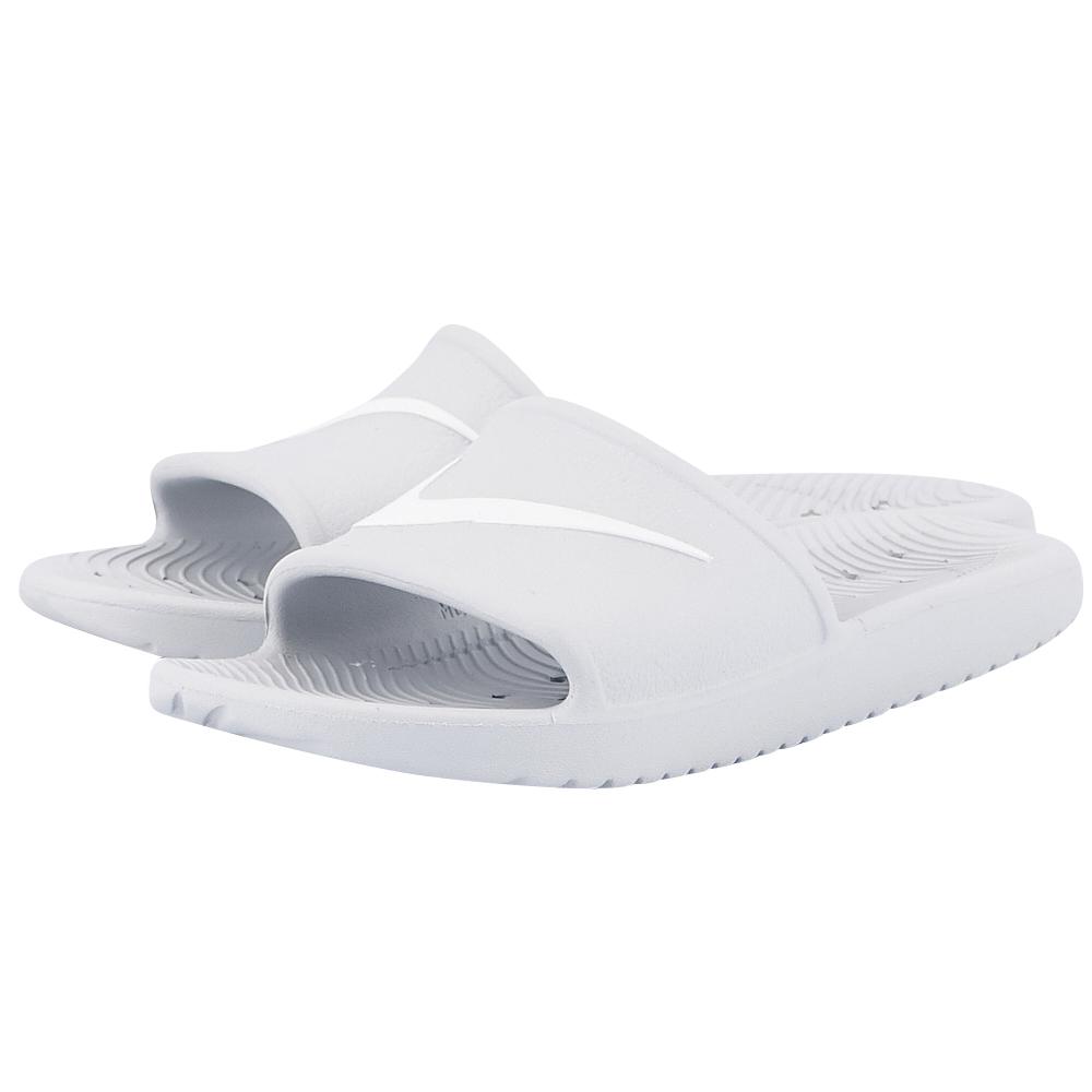 Nike – Nike Kawa Shower Sandal 832655-010 – ΛΕΥΚΟ
