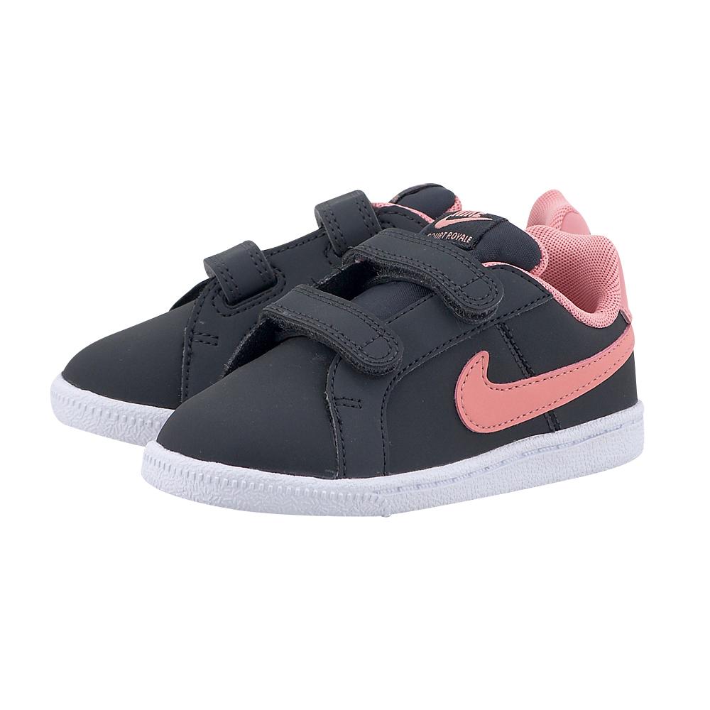 Nike - Nike Court Royale Toddler 833656-002 - ΜΑΥΡΟ/ΡΟΖ παιδικα   αθλητικά