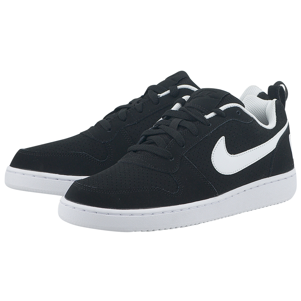 Nike – Nike Court Borough Low 838937-010 – ΜΑΥΡΟ