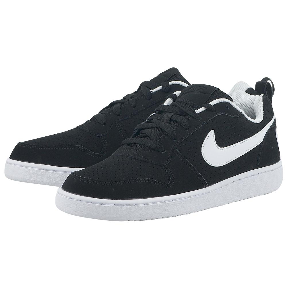 Nike – Nike Court Borough Low 838937-010 – ΜΑΥΡΟ