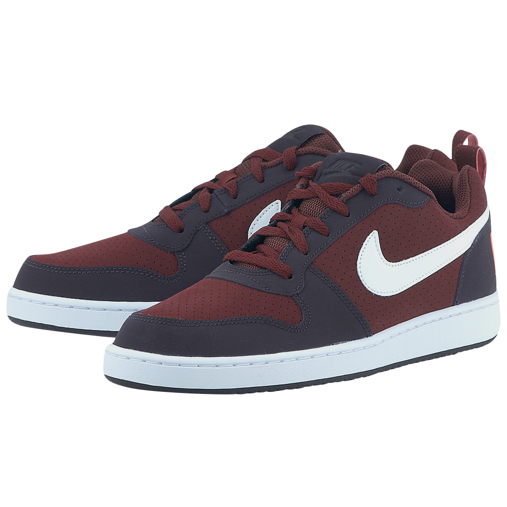 Nike – Nike Men's Court Borough Low Shoe 838937-600 – ΜΠΟΡΝΤΩ