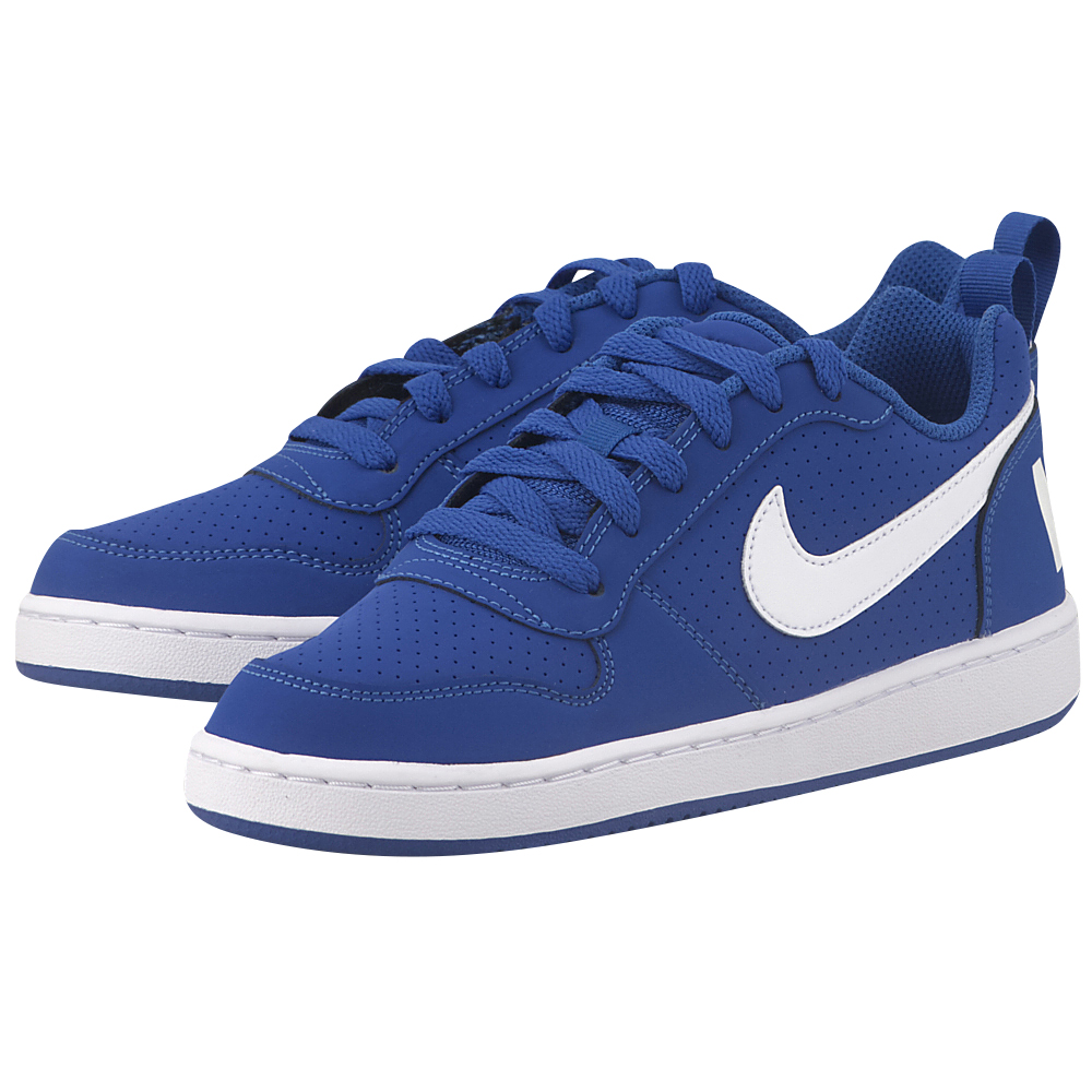 Nike - Nike Court Borough Low (GS) 839985-401 - ΜΠΛΕ